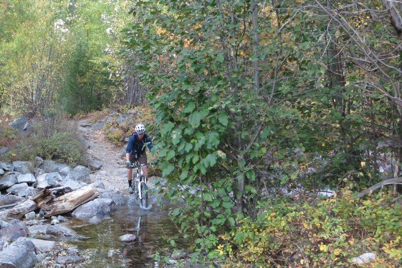 Crossing Little Rock Creek