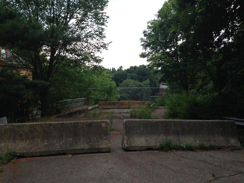 Abandoned Davis Ave Bridge