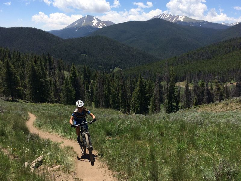 Quandary Peak and the Ten Mile Range