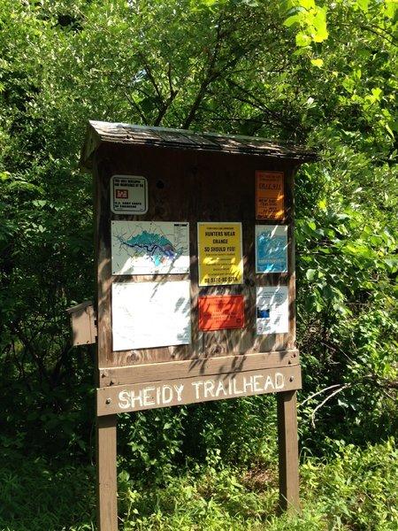 Sheidy Road TrailHead