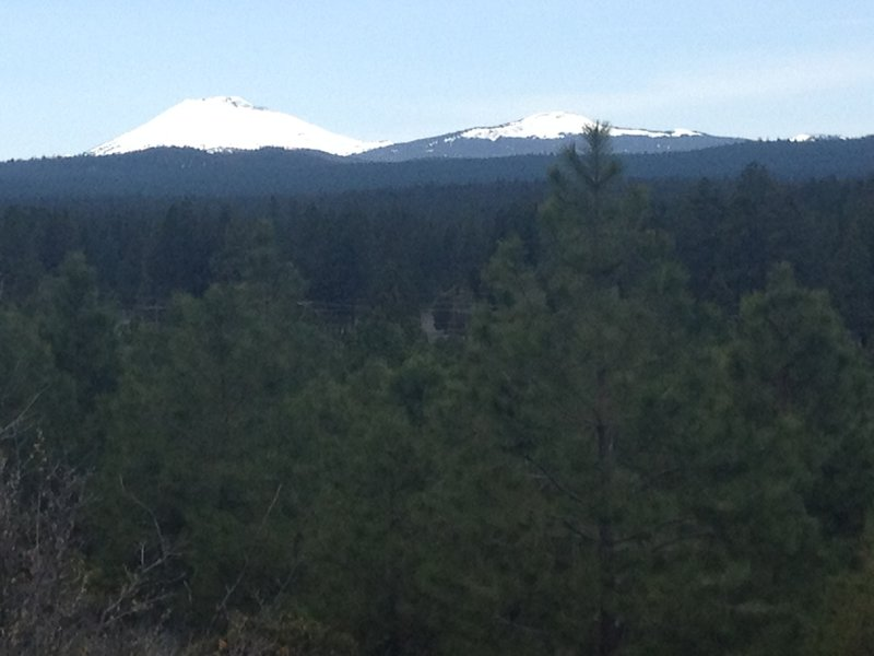 Mt Bachelor and Tumalo looking snowy