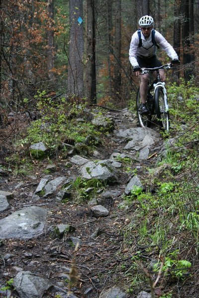 Pick a route through the rocks
