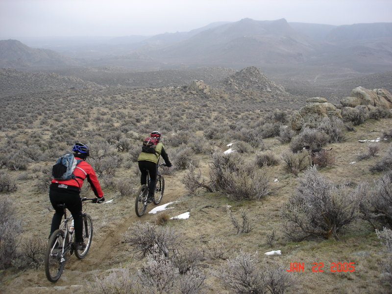 Owyhee Action and rocks.