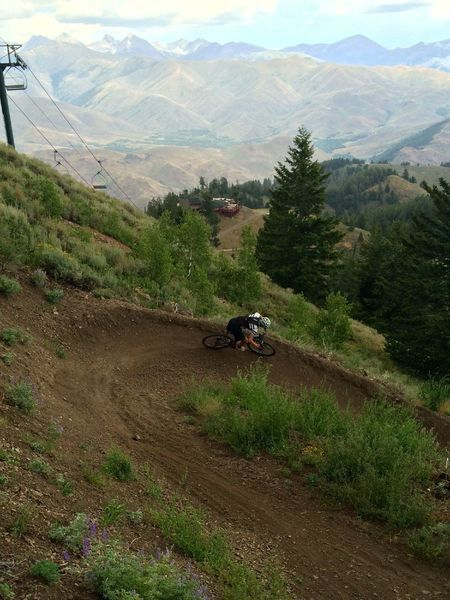 Great views, great berms