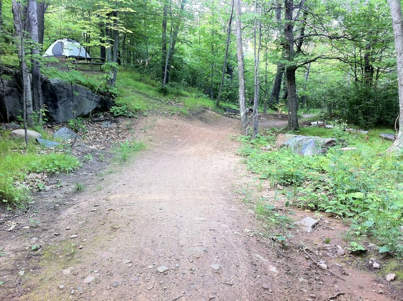 This trail's namesake.