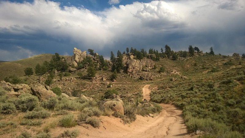 a typical Hartman Rocks view