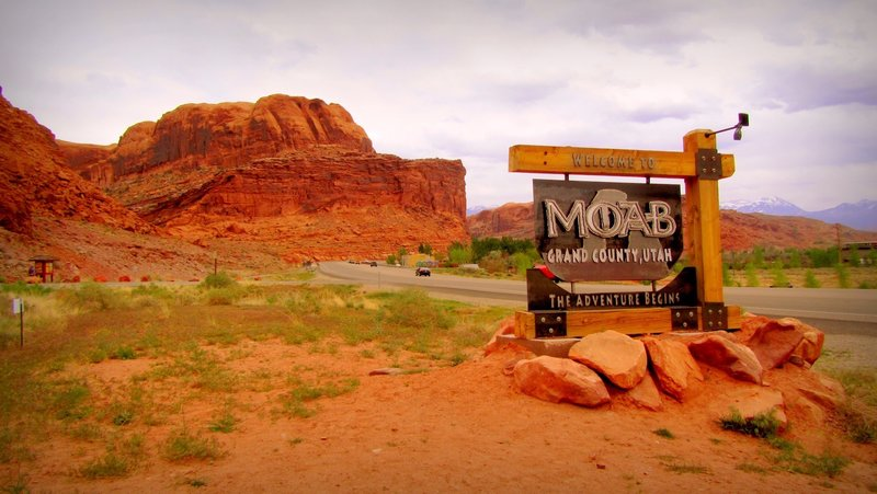 Welcome to Moab.