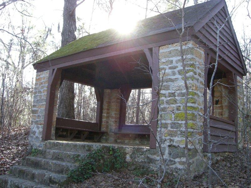Coquina shelter