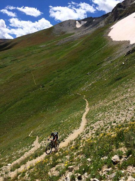 Damn, that's a cool trail!