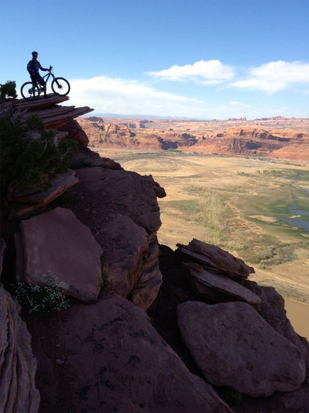 High over Moab
