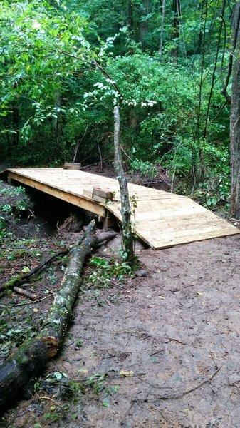 Freshly built bridge!
