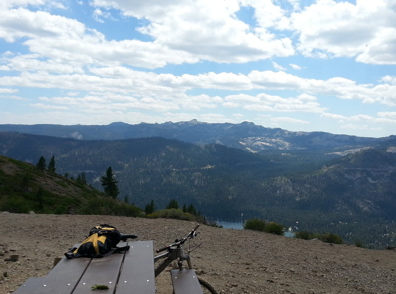 """End of the trail(for now) DLRT!<br> """"The Bench""""<br> So many options from here!"""