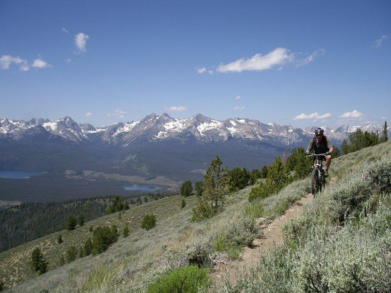 Little Casino to Big Casino Mountain Bike Trail, Challis, Idaho