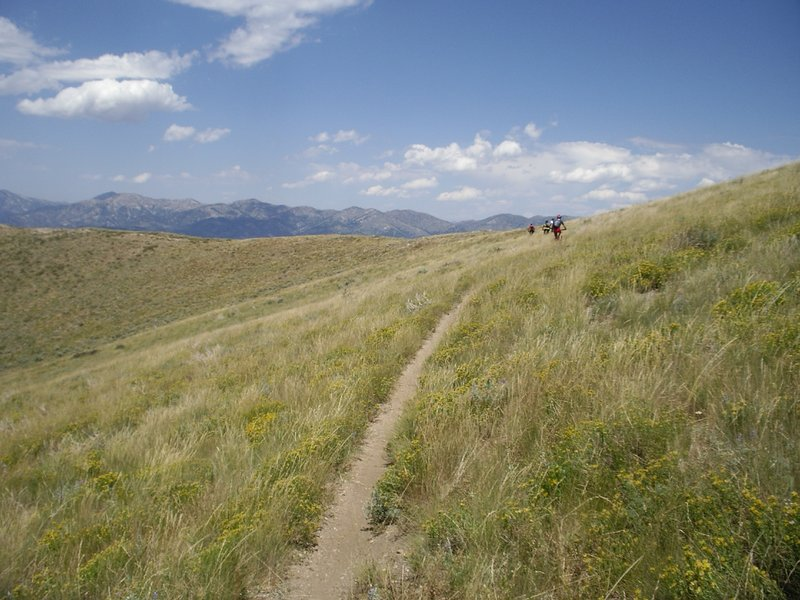 Ridge riding in the Smokey Mountains