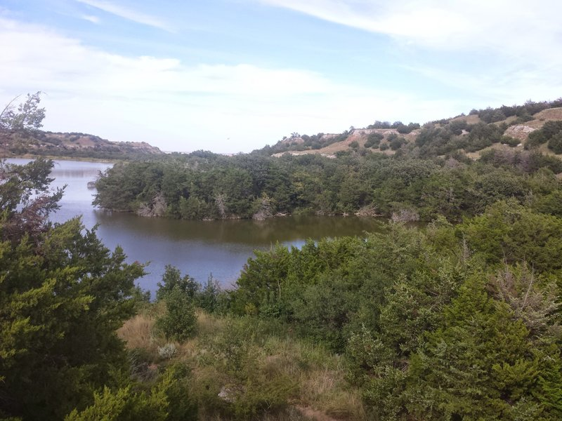 More great views on this scenic loop on top of the mesa near the two lakes