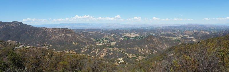 Looking towards Thousand Oaks.