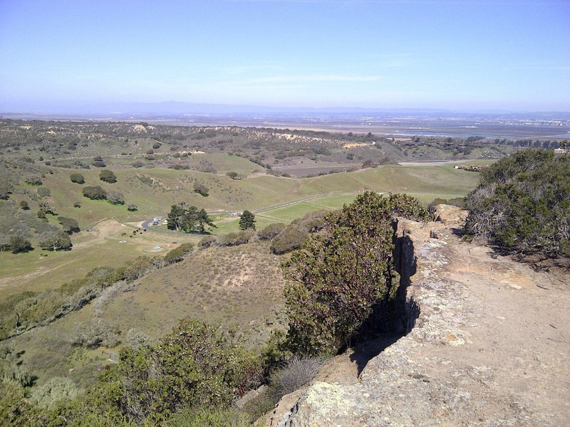 A view over Merrill Ranch and Salinas Valley.