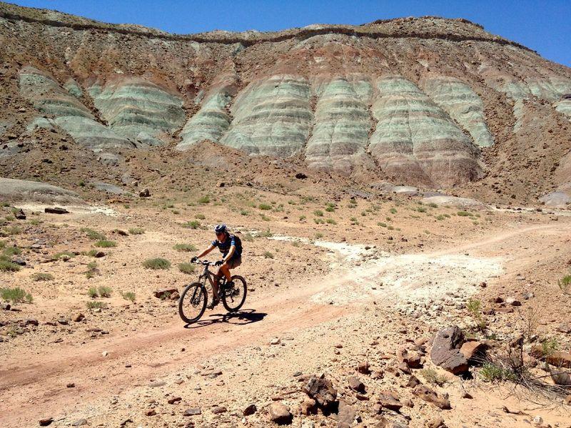 More copper in those ridges
