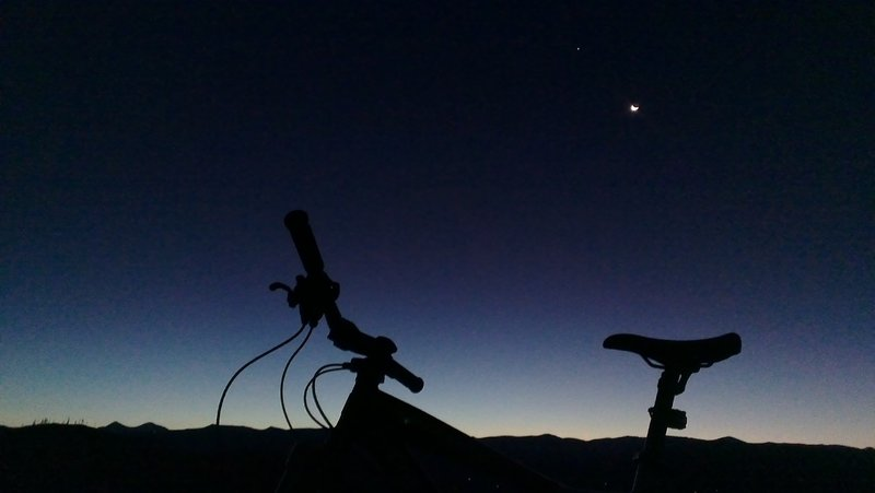 Dawn over the Continental Divide