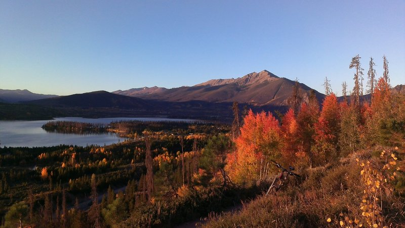 Views from Old Dillon Reservoir Trail