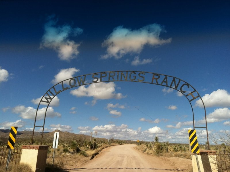 Willow Springs arch.