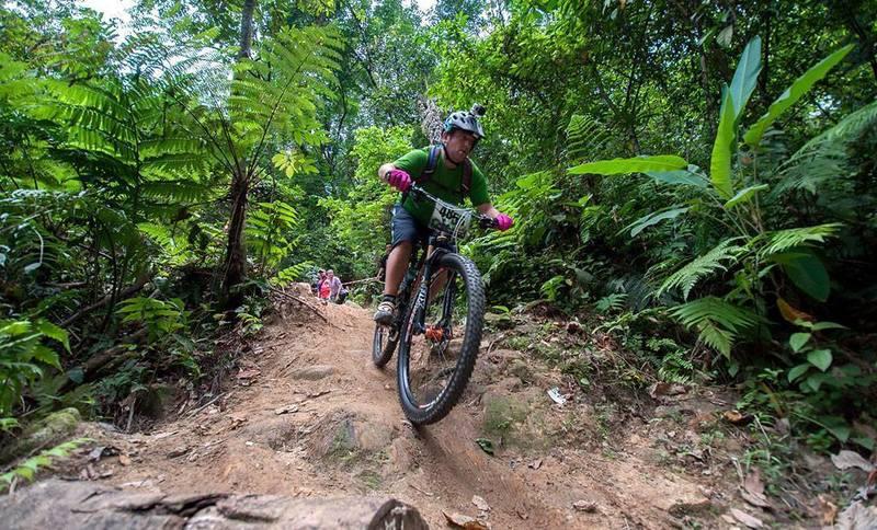 """Cheeky Creek"" on ""Around The Mountain"" Trail, Bukit Kiara, Malaysia"