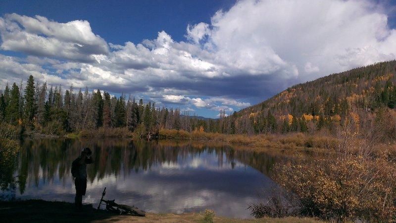 Rainbow Lake above Frisco, Colorado