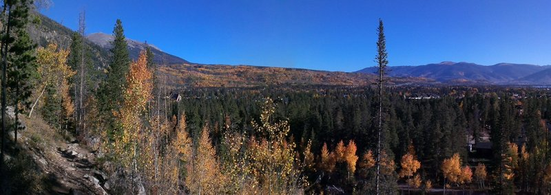 Mount Royal Trail views