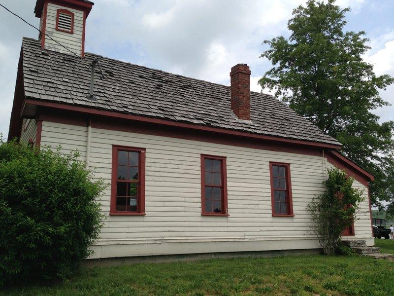 1892 one-room schoolhouse.