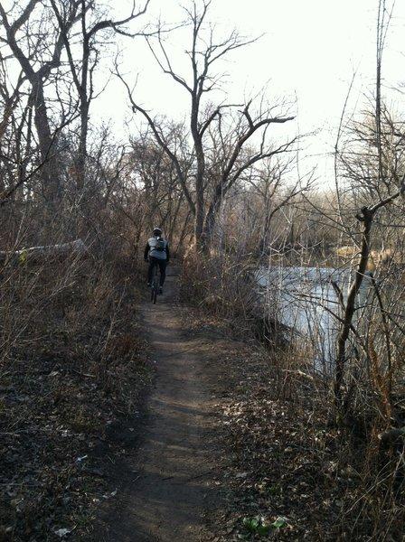 Along the Menomonee River
