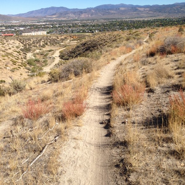 View from the Seven Steps Trail