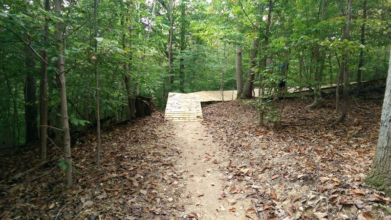 Meadowood Boss Trail Obstacles
