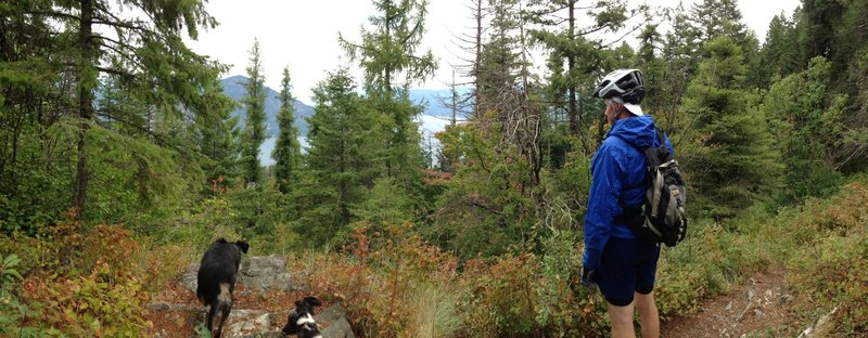 Looking North over Lake Pend Oreille
