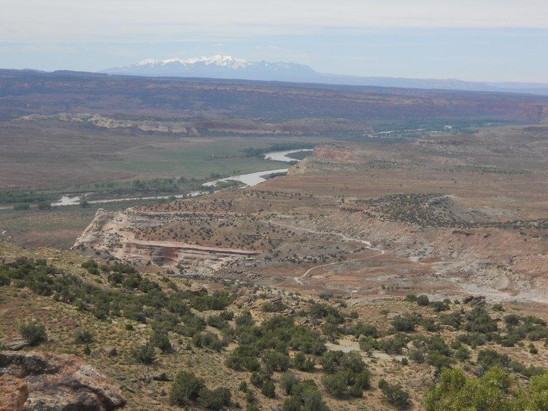 Zion Curtain views
