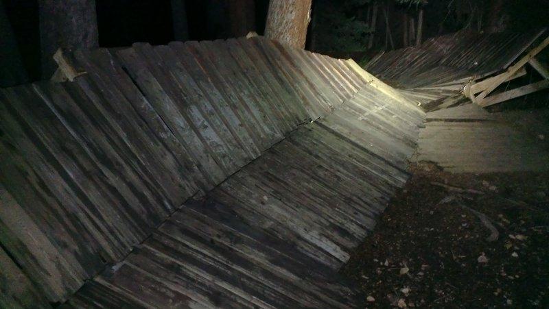 Breckenridge Freeride Park at night