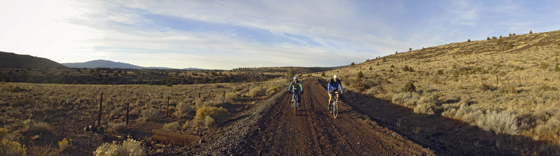 Out for a ride on Modoc Line Rail Trail