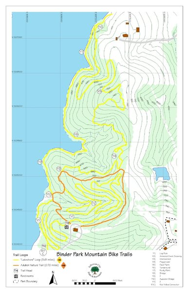 Topo map of the yellow loop