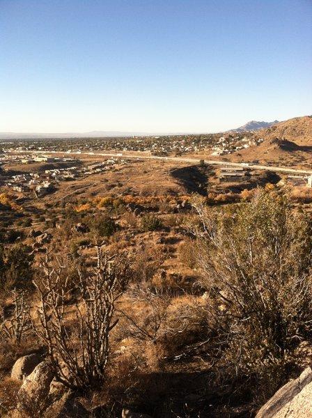 Great view of Albuquerque