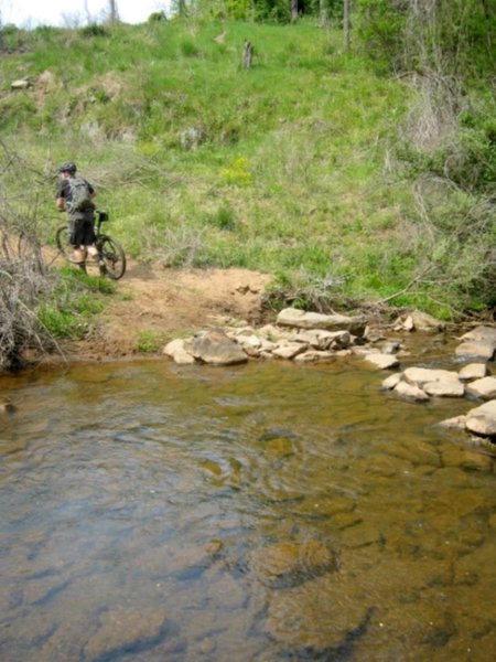 Crossing Morey Creek