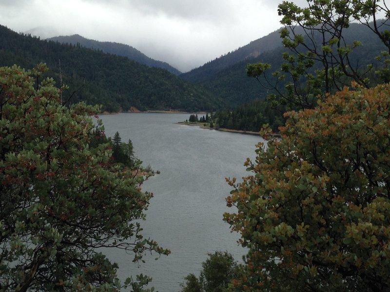 Applegate Lake in wetter conditions