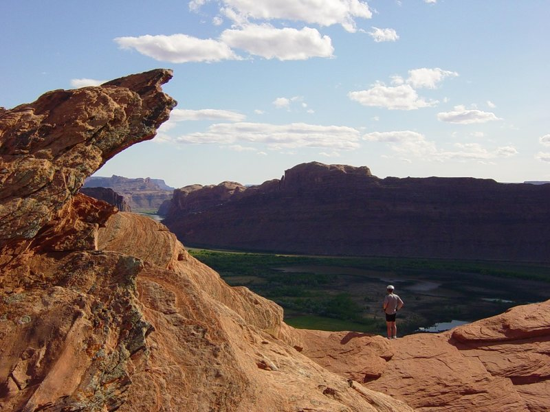 View over Moab