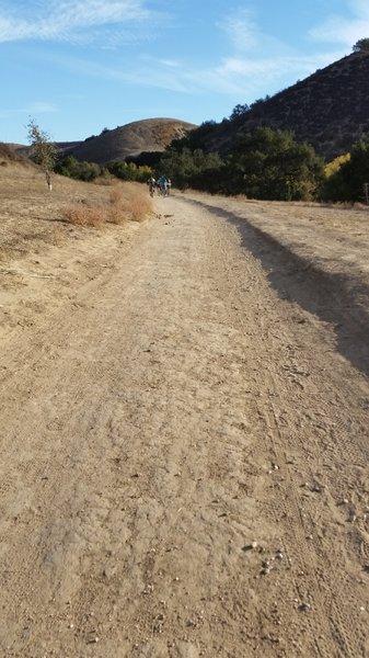 Start of Cheeseboro Trail