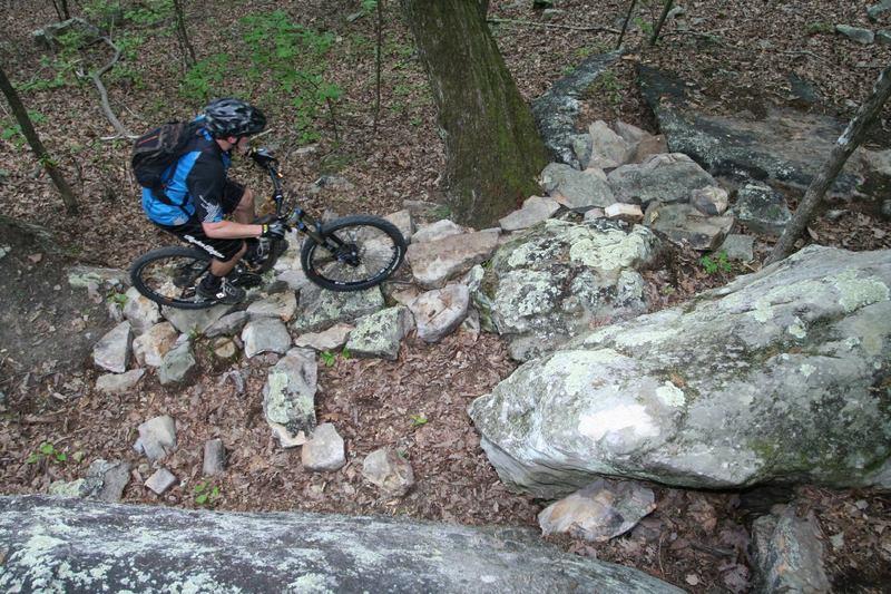 Rocks!  On Backside Trail