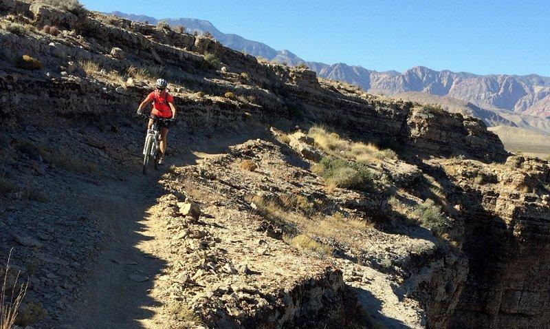 Lots of deep canyons at SW Ridge