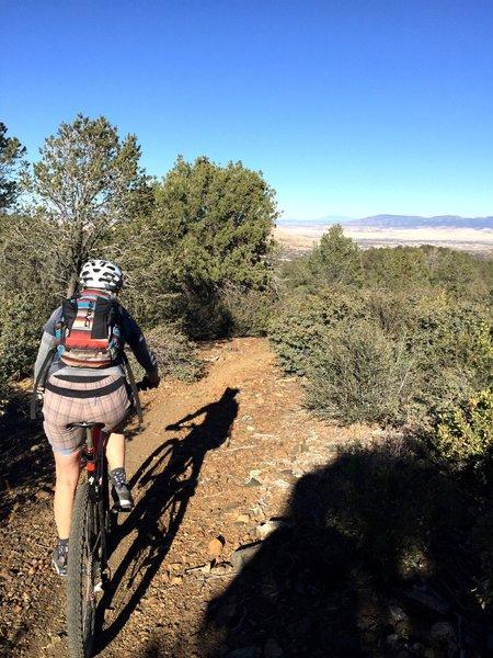 Mingus Mountain and Prescott Valley views