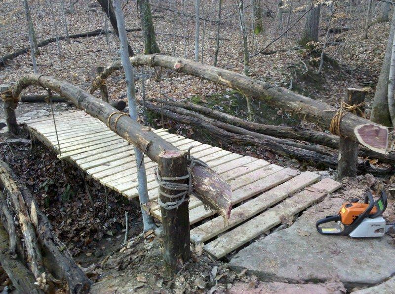 A KYMBA built bridge