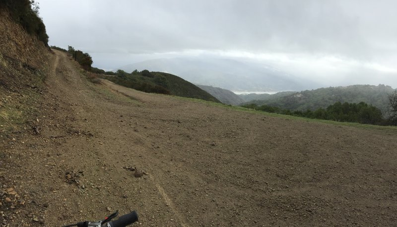 Almost there, few more switchbacks to the top!