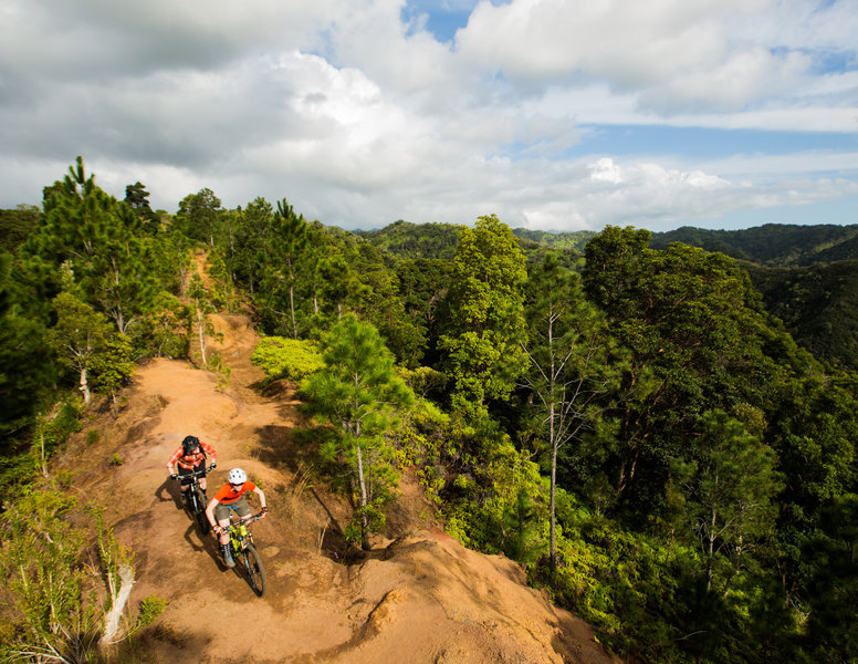 Although challenging, Manana Trail is worth the effort for the fantastic views and the lush forests.