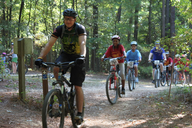 A Triangle Trips for Kids ride!