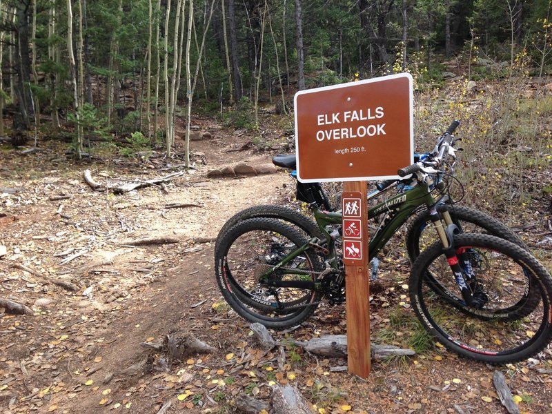 End of Lion's Back Trail